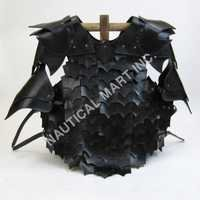 Leather Chest Plate With Arm Guards