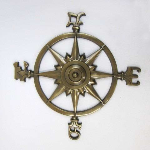 Aluminum Rose Compass Antique size: 23