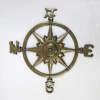 Aluminum Rose Compass Antique size: 23