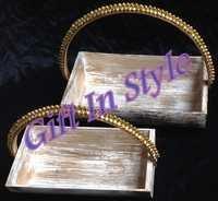 Designer Wooden Basket