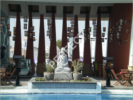 Buddha Statue Fountain