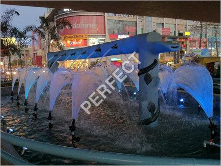 Fan Jet Fountains