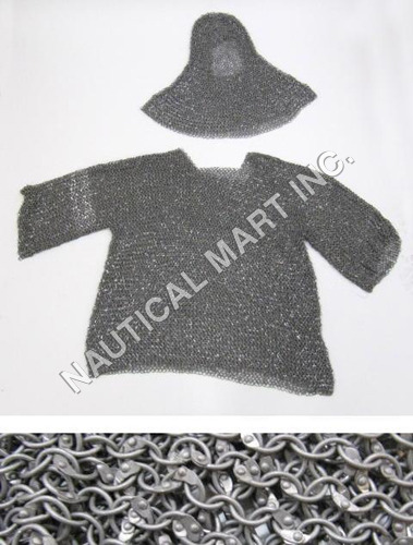 Aluminum Chain Mail With Hood