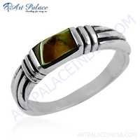Elegant Fancy 925 Sterling Inley Silver Ring