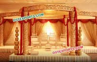 Wedding Royal Golden Mandap