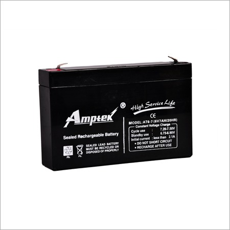 SMF Industrial Battery 6V7AH