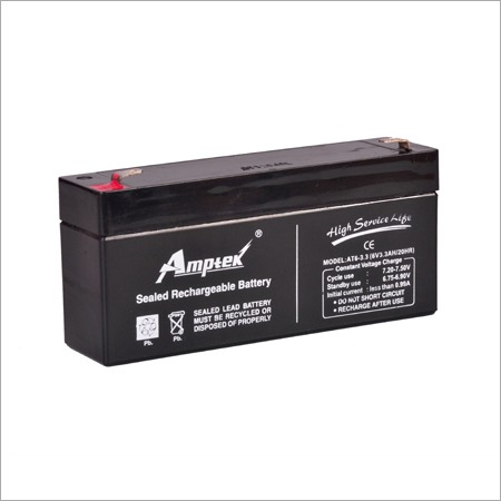SMF Industrial Battery 6V3.3AH