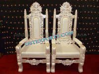 WEDDING PEARL MAHARAJA CHAIRS