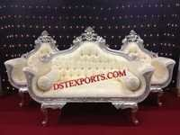 ROYAL WEDDING SILVER SOFA SET