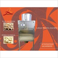 Dry Garlic Peeling Machinery