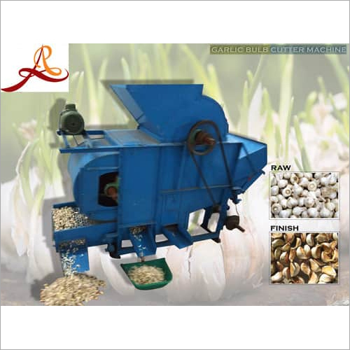 Garlic Bulb Cutter Machine
