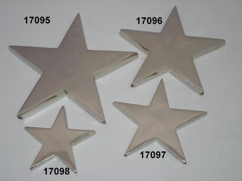 Aluminium Star hanging
