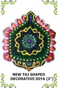 New Taj Shaped Decorative Diya