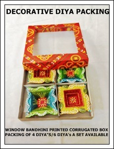 Decorative Diya Packing