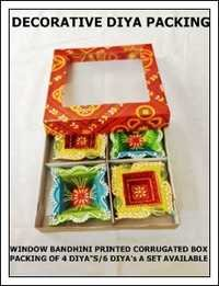 Decorative Diya Packing