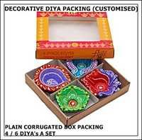Customized Decorative Diya Packing