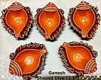 Ganesh Shaped Diya