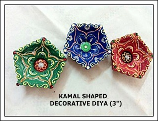 Kamal Shaped Decorative Diya
