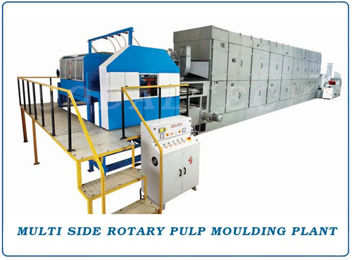 Multi Side Rotary Pulp Moulding Machinery