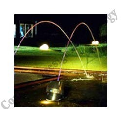 Jumping Jet With Static Fountain