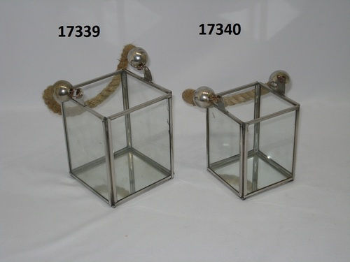 Stainless Steel Lentern Square Rope Handle
