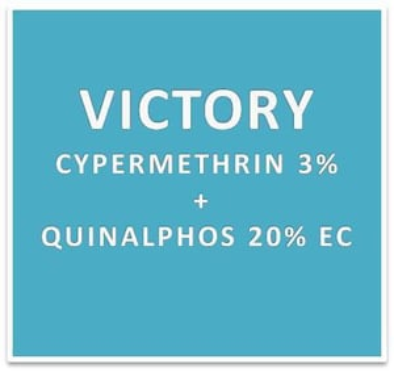 CYPERMETHRIN 3% + QUINALPHOS 20% EC
