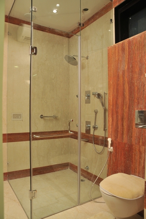Glass Shower Cubical