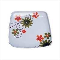 Melamine Unbreakable Square Plates