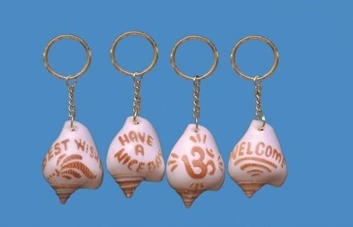 Promotional Shell Keychains