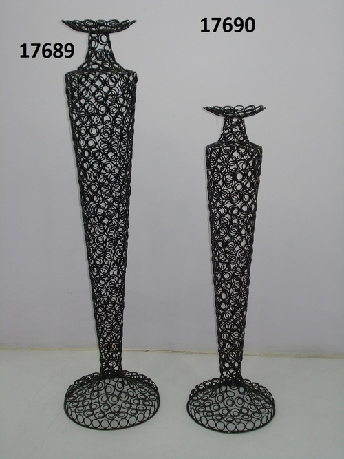 Iron Decorative Candle Pillar Holder