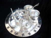 Silver Plated Pooja Thali