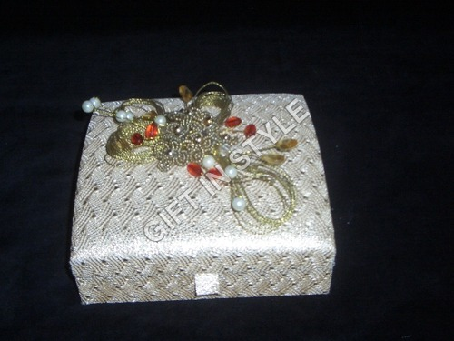 Designer Crystal Jewelry Box