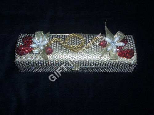 Designer Sequins Jewelry Box