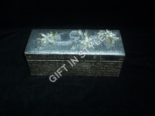 Designer Bone Brass Jewelry Box