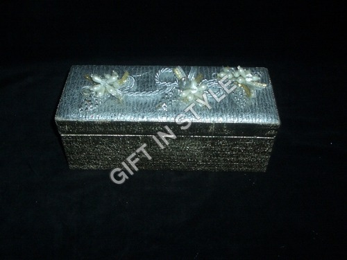 Designer Bone Brass Jewelry Box