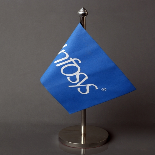Corporate Table Flags