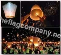 Customized Sky Lanterns Flags