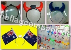 Bull Horns Type Flags