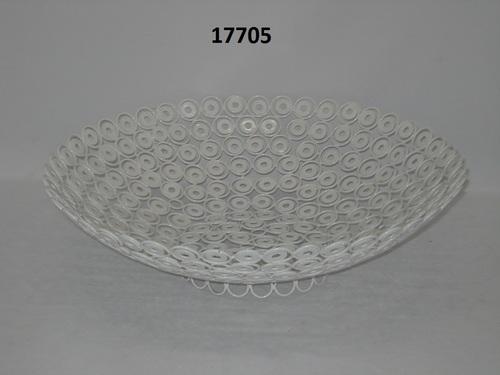 Iron  White Bowl