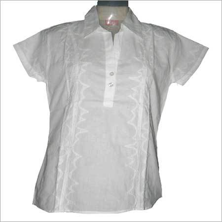 Ladies Embroidered Shirts