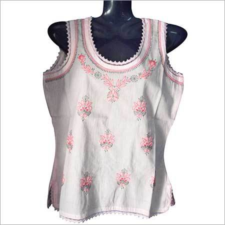 Hand Embroidered Top