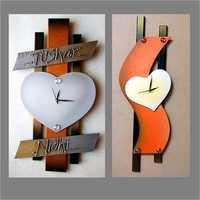 Handcrafted Wood Clocks