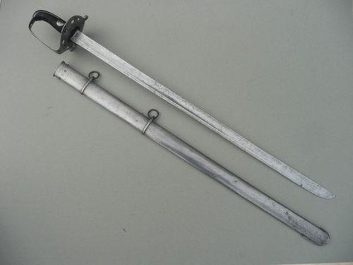 1796 British heavy cavalry sword