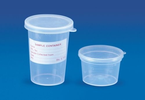 Sample Container (Press & Fit Type)