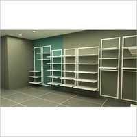3D Retail Shelving Fixtures