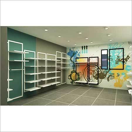 3D Retail Store Fixtures