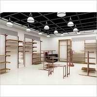 3D Retail Showroom Fixtures