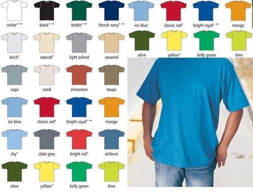 Camicia blu di Mens T