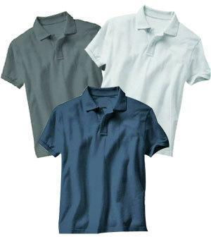 Polo Style Collar T-Shirts
