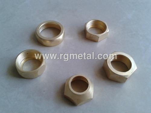 Precision Brass Nut